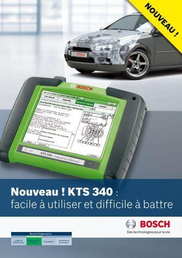 KTS 340 - Bosch Diagnostics