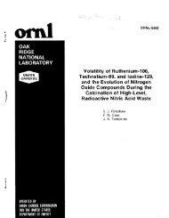 Volatility of ruthenium-106, technetium-99, and iodine-129, and the ...