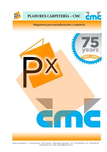 Catálogo PDF - Pladurex Carpetería