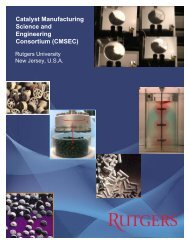 Catalyst Manufacturing Science and Engineering Consortium ...