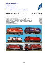 ABG Technology AG ABG 0m Fine Scale Models 1:45 ... - Rittech