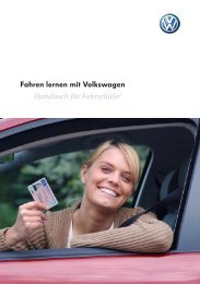 Fahren lernen mit Volkswagen - Abc-citydrive.de