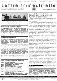 Lettre N° 48 - Site de référence de la culture et du patrimoine dans ...