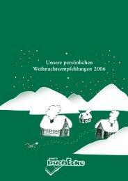 Unsere persönlichen Weihnachtsempfehlungen ... - ameis Buchecke