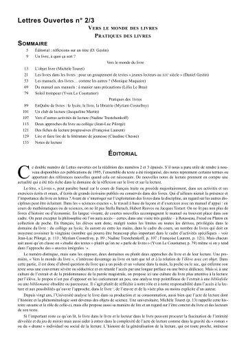 """""""Réflexions sur un titre"""" (D. Gestin) - WebLettres"""