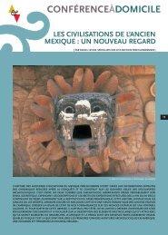 Les civilisations de l'ancien Mexique - Arts et Vie