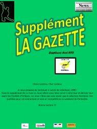 Supplément GAZETTE N°6 - Comité de Handball du Gard