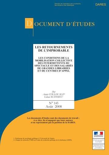 DE2008-145 - Les retournements de l'improbable (pdf - 730.6 ko)