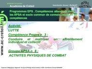 lutte - Académie de Créteil