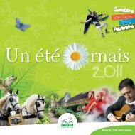 Un été ornais 2011 - Conseil Général de l'Orne