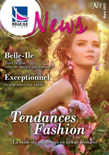 Tendances Fashion La mode du printemps en avant-première Belle ...