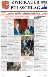 Amtsblatt Nr. 01 vom 10.01.2001 (*.pdf, 988 KB) - Stadt Zwickau