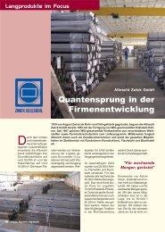 Der ganze Bericht als PDF-Dokument - Zwick Edelstahl