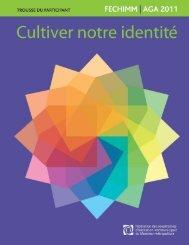 trousse du participant à l'AGA 2011 - Fédération des coopératives d ...