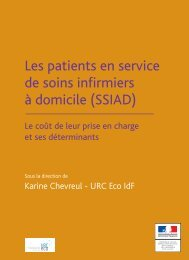 Les patients en service de soins infirmiers à domicile (SSIAD)