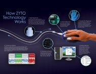 Technology Explained Tri-fold Brochure - Zyto