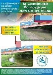 Continuité écologique des cours d'eau - Agence de l'eau Artois ...