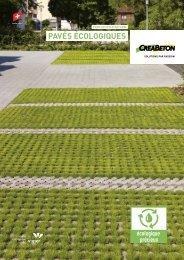 PavéS écologiqueS - Creabeton Materiaux AG
