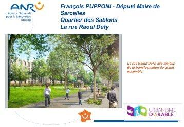 Sarcelles - Quartier des Sablons - La rue Raoul Dufy - pdf - Anru