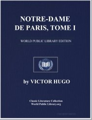 NOTRE-DAME DE PARIS, TOME I - World eBook Library