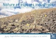 Nature et espaces industriels.pdf - Site de l'Etablissement Public ...