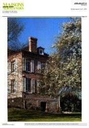Maisons Normandes 06/2013 - La Closerie des Millets