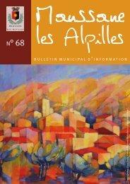 Bulletin n°68 - Mairie de Maussane Les Alpilles