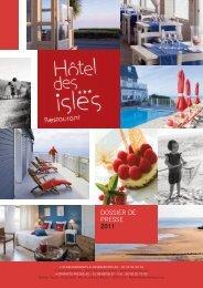 Dossier de Presse - Hôtel des Isles