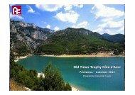 Old Timer Trophy Côte d'Azur 2013 - Privilege Events
