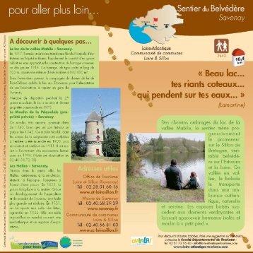 Sentier du Belvédère - Savenay.indd - Communauté de Communes ...