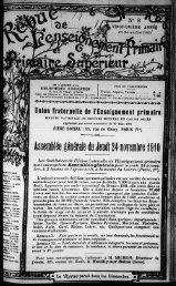 Assemblée générale du Jeudi 24 novembre 1910 - INRP