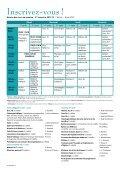 Le Maillon - PRINTEMPS 2012 - Institut Biblique Belge - Page 2