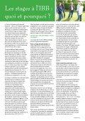 Le Maillon - PRINTEMPS 2012 - Institut Biblique Belge - Page 5