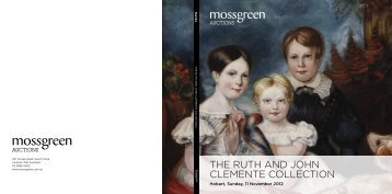 the ruth and john clemente collection - Mossgreen Gallery