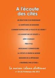 A l'écoute des cités - Le blog de Patrice Leclerc