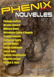 NOUVELLES - Phénix-Web