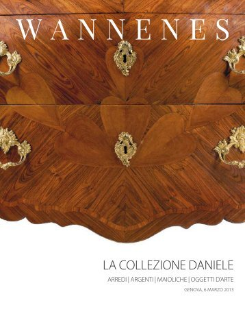 LA COLLEZIONE DANIELE - wannenes