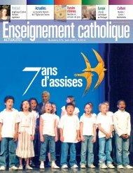eca 315 juin 2007 - Enseignement Catholique