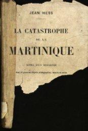 la catastrophe - Manioc