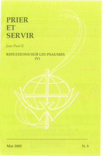 Prier et Servir - Nº 3 - Mai 2005 - Apostleship of Prayer