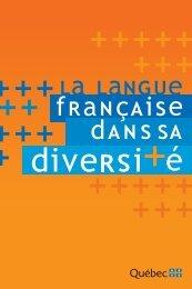 Actes du colloque - Secrétariat à la politique linguistique ...