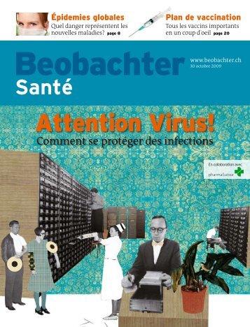 Attention Virus! Edition 22/09 - pharmaSuisse