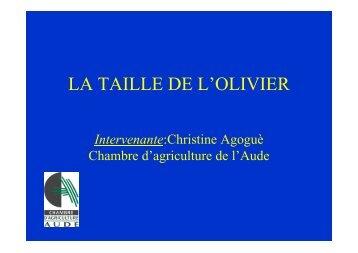 Taille - Chambre d'agriculture de l'Aude