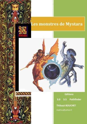 Les monstres de Mystara - Portail