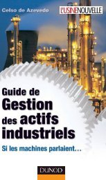 GUIDE DE GESTION DES ACTIFS INDUSTRIELS - Dunod