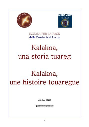A4 quad. speciale Tuareg.pdf - Provincia di Lucca