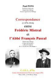 F. Pascal Mistral fin