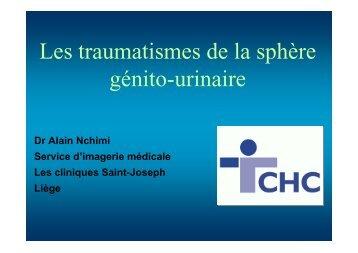 Les traumatismes de la sphère génito-urinaire - UCL Imaging