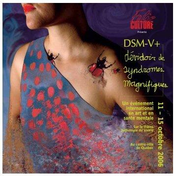 Programme DSM-V+.pdf - AGIR en santé mentale