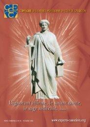 Experts agréés par la Cour de cassation 2007 - Compagnie des ...